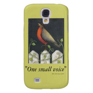 """sasafrás, """"una pequeña voz"""", golpe de Sally autor… Samsung Galaxy S4 Cover"""