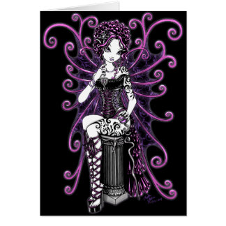 """Sasha"" Couture Pink Valentine Fairy Card"
