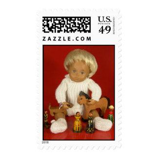 Sasha Doll Baby Wooly Postage