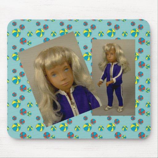 Sasha Doll/doll mouse PAD