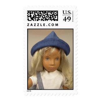 Sasha Doll Holiday Postage