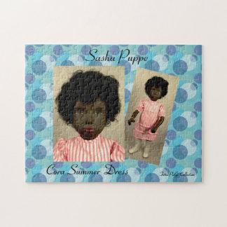 Sasha Doll puzzle Cora buzzer Dress