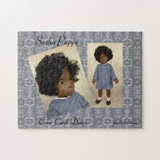 Sasha Doll puzzle Cora Cord Dress