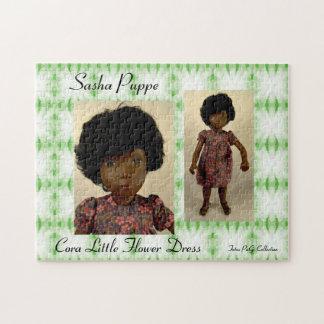 Sasha Doll puzzle Cora Little Flower Dress