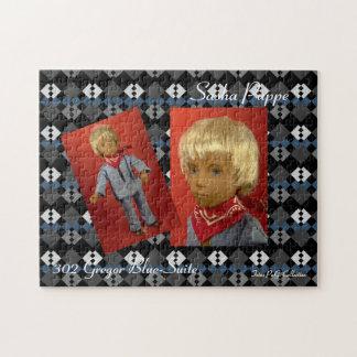 Sasha Doll puzzle Gregor Blue Suite