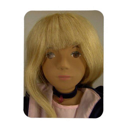 Sasha Doll Sasha Doll Premium Flexi Magnet Zazzle
