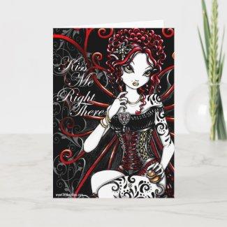 Sasha Fairy Valentines Day Card card