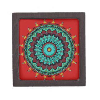 Sasha Mandala Aqua Red Premium Gift Box