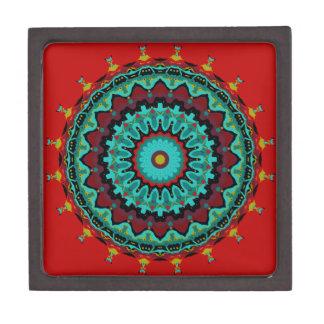 Sasha Mandala Aqua Red Premium Gift Boxes