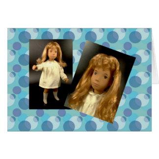 Sasha Morgenthaler doll map Greeting Card