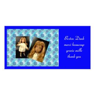 Sasha THANKS photomap Photo Card