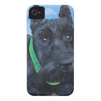 Sasha the Black Schnauzer Case-Mate iPhone 4 Case