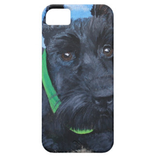 Sasha the Black Schnauzer iPhone SE/5/5s Case