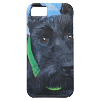 Sasha the Black Schnauzer iPhone SE/5/5s Case