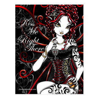 Sasha Valentine's Day Fairy Postcard