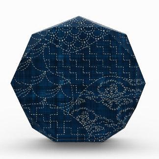 Sashiko-style embroidery imitation award