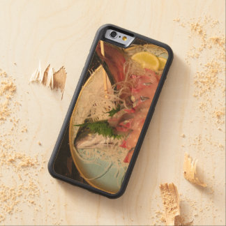 Sashimi 刺身 carved maple iPhone 6 bumper case