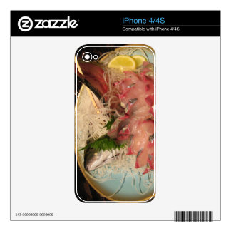 Sashimi 刺身 decal for iPhone 4