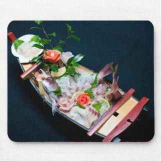 Sashimi Boat. Mouse Pad