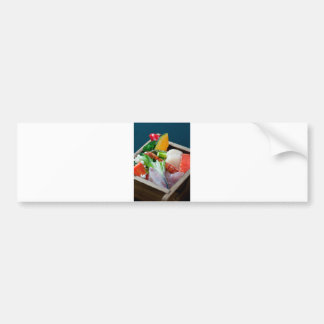 Sashimi. Bumper Sticker