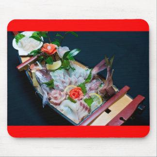 Sashimi in Japan, Japanese Cuisine Mouse Pad