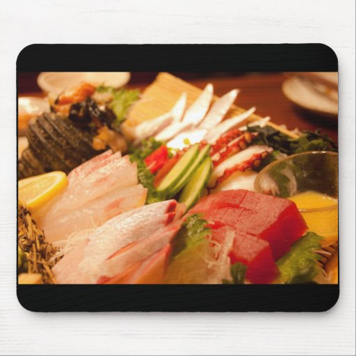 Sashimi in Japan Mouse Pad