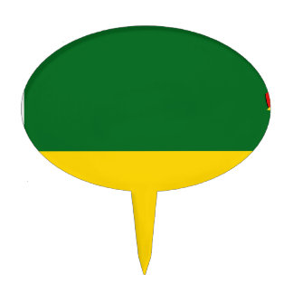 Saskatchewan-Bandera Figura Para Tarta