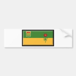 Saskatchewan (Canada) Flag Bumper Sticker