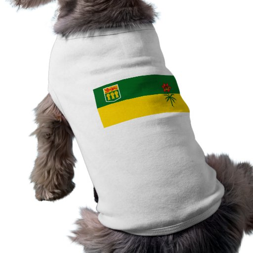 Saskatchewan, Canada Pet T Shirt