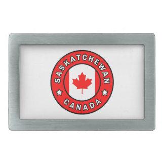 Saskatchewan Canada Rectangular Belt Buckle