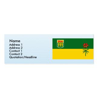 Saskatchewan, Canadá Plantillas De Tarjetas De Visita