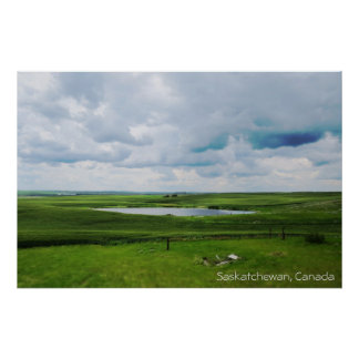 Saskatchewan, Canada | The Prairies Poster