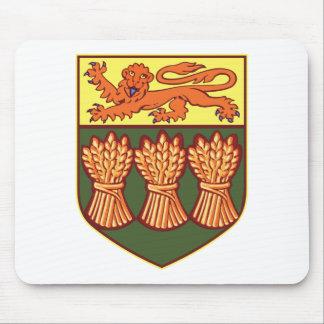 Saskatchewan Coat of Arms (alternate) Mousepad