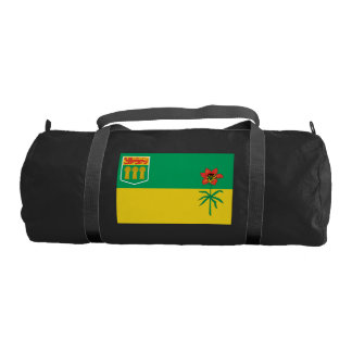 SASKATCHEWAN Flag Gym Duffel Bag