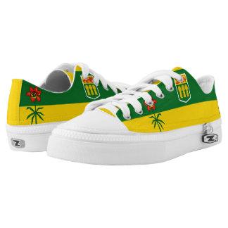Saskatchewan flag Low-Top sneakers