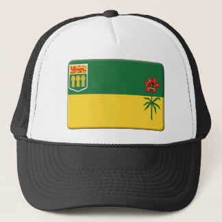 Saskatchewan Flag PERSONALIZE Trucker Hat