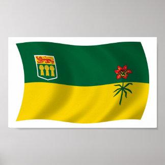 Saskatchewan Flag Poster Print