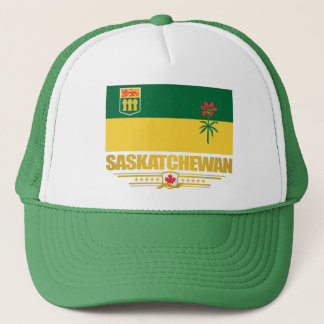 Saskatchewan Flag Trucker Hat