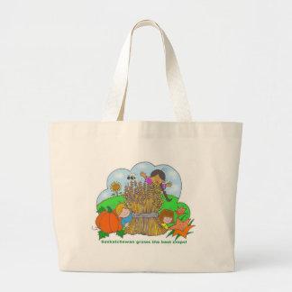 Saskatchewan Grows Canvas Bag