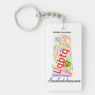 Saskatchewan has pride keychain