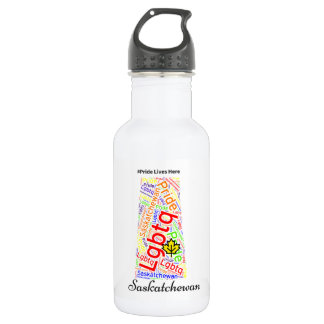 Saskatchewan has pride water bottle