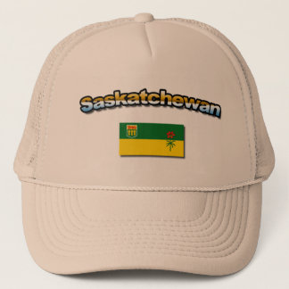 Saskatchewan hat with flag!