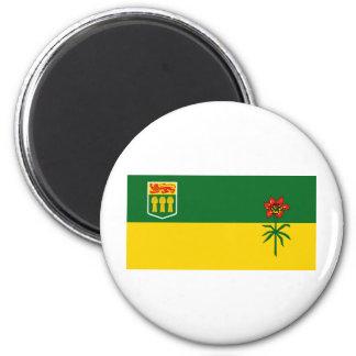 Saskatchewan Imán Redondo 5 Cm