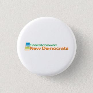 Saskatchewan New Democrats Logo Button
