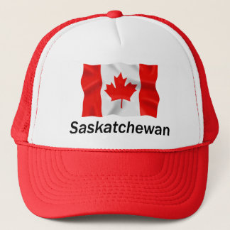 Saskatchewan - Red Trucker Hat