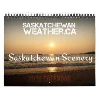 Saskatchewan Scenery 2015 Calendar