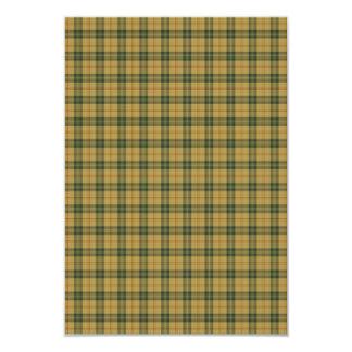 Saskatchewan tartan card