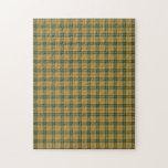 Saskatchewan tartan jigsaw puzzles
