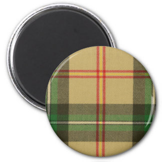 Saskatchewan Tartan Magnet