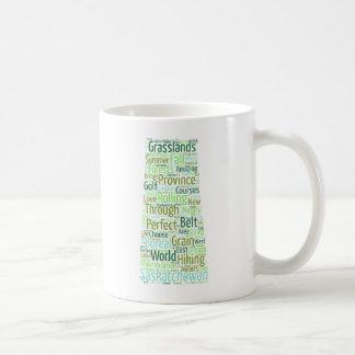 Saskatchewan word mug